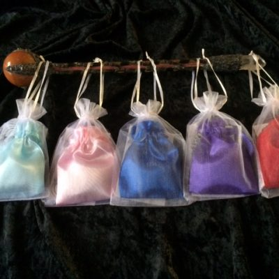 Crystals and Herbs pouches
