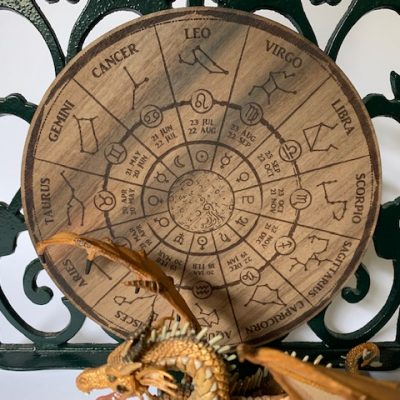 Astrology calendar Walnut