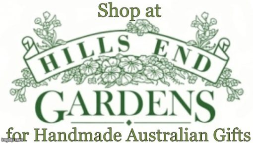 Shop at Hills End Gardens for handmade Aust gifts